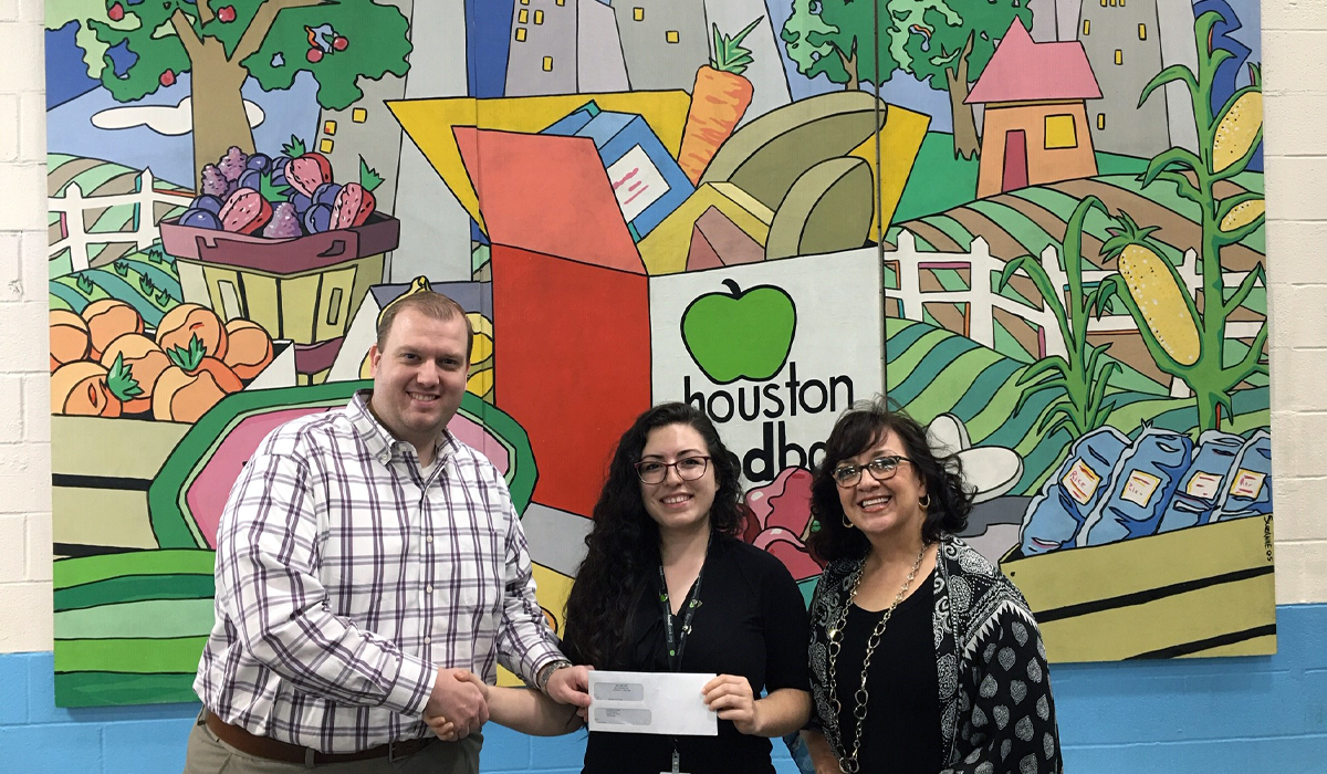 Shining the Light on a Good Cause: Houston Food Bank
