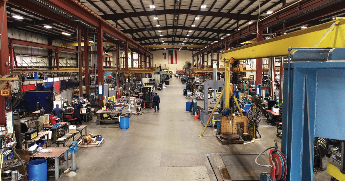 Case Study: United Valve Lights The Way For More Efficient Production