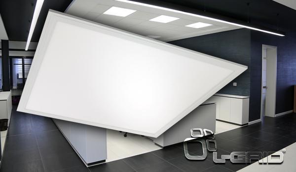 Introducing the L-Grid® Edge Xtreme: Edge-Lit Flat Panel Troffer